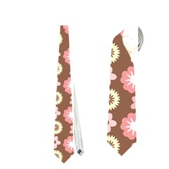 Cute Floral Pattern Neckties (One Side)  by creativemom