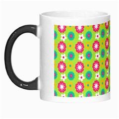 Cute Floral Pattern Morph Mugs by creativemom