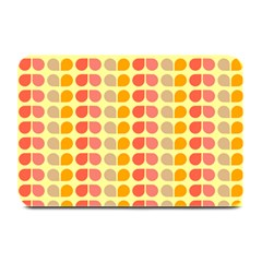 Colorful Leaf Pattern Plate Mats by creativemom