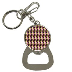 Cute Floral Pattern Bottle Opener Key Chains by creativemom