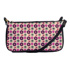 Cute Floral Pattern Shoulder Clutch Bags by creativemom