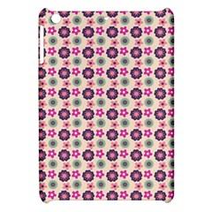 Cute Floral Pattern Apple iPad Mini Hardshell Case by creativemom