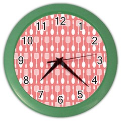 Pattern 509 Color Wall Clocks by creativemom