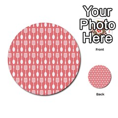 Pattern 509 Multi Purpose Cards (round)