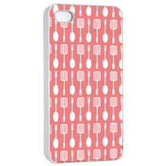 Pattern 509 Apple Iphone 4/4s Seamless Case (white) by creativemom