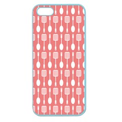 Pattern 509 Apple Seamless Iphone 5 Case (color) by creativemom