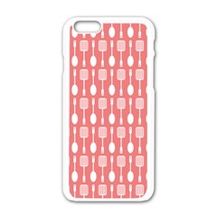Pattern 509 Apple Iphone 6 White Enamel Case by creativemom