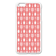 Pattern 509 Apple Iphone 6 Plus Enamel White Case by creativemom