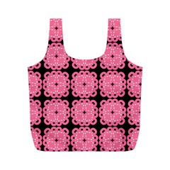 Cute Pretty Elegant Pattern Full Print Recycle Bags (m)  by creativemom
