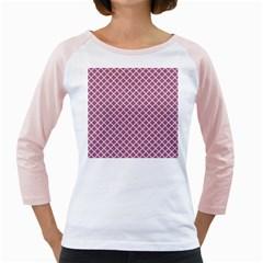 Cute Pretty Elegant Pattern Girly Raglans