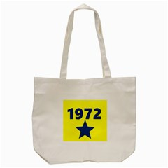 1972 Tote Bag (cream)  by theunrulyartist
