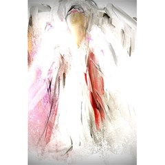 Abstract Angel In White 5 5  X 8 5  Notebooks by theunrulyartist
