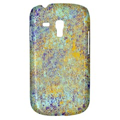Abstract Earth Tones With Blue  Samsung Galaxy S3 Mini I8190 Hardshell Case by theunrulyartist