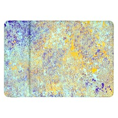 Abstract Earth Tones With Blue  Samsung Galaxy Tab 8 9  P7300 Flip Case by theunrulyartist