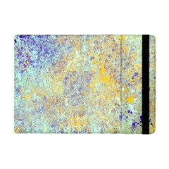 Abstract Earth Tones With Blue  Ipad Mini 2 Flip Cases by theunrulyartist