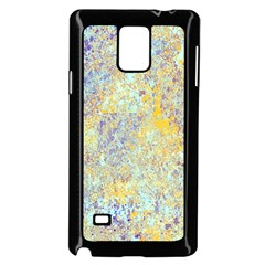 Abstract Earth Tones With Blue  Samsung Galaxy Note 4 Case (black) by theunrulyartist