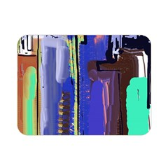 Abstract City Design Double Sided Flano Blanket (mini)  by theunrulyartist