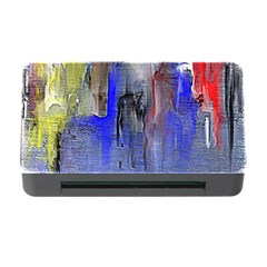 Hazy City Abstract Design Memory Card Reader With Cf by theunrulyartist