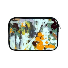 Abstract Country Garden Apple Ipad Mini Zipper Cases by theunrulyartist