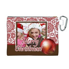 Xmas By M Jan   Canvas Cosmetic Bag (xl)   5ibwb1osj3k4   Www Artscow Com Back
