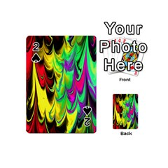 Fractal Marbled 14 Playing Cards 54 (mini)  by ImpressiveMoments