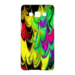 Fractal Marbled 14 Samsung Galaxy A5 Hardshell Case  by ImpressiveMoments