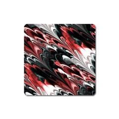 Fractal Marbled 8 Square Magnet by ImpressiveMoments