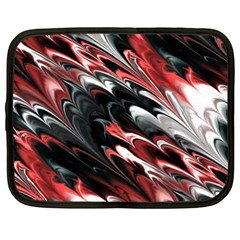 Fractal Marbled 8 Netbook Case (XL)  by ImpressiveMoments