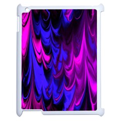 Fractal Marbled 13 Apple Ipad 2 Case (white) by ImpressiveMoments