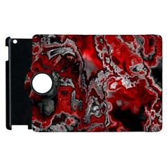 Fractal Marbled 07 Apple Ipad 2 Flip 360 Case by ImpressiveMoments