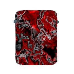 Fractal Marbled 07 Apple Ipad 2/3/4 Protective Soft Cases by ImpressiveMoments