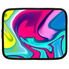 Fluid Art 22 Netbook Case (xxl)  by ImpressiveMoments