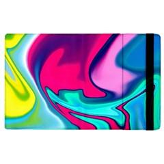 Fluid Art 22 Apple Ipad 2 Flip Case by ImpressiveMoments