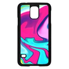 Fluid Art 22 Samsung Galaxy S5 Case (Black) by ImpressiveMoments