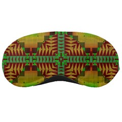 Tribal Shapes Pattern Sleeping Mask