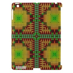 Tribal Shapes Pattern Apple Ipad 3/4 Hardshell Case (compatible With Smart Cover) by LalyLauraFLM