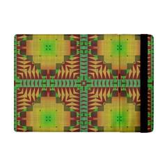 Tribal Shapes Pattern Apple Ipad Mini Flip Case by LalyLauraFLM
