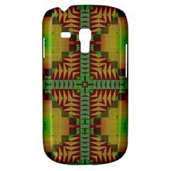 Tribal Shapes Pattern Samsung Galaxy S3 Mini I8190 Hardshell Case by LalyLauraFLM