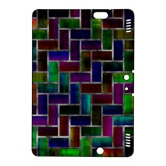 Colorful rectangles patternKindle Fire HDX 8.9  Hardshell Case by LalyLauraFLM