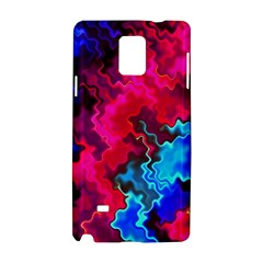 Psychedelic Storm Samsung Galaxy Note 4 Hardshell Case by KirstenStar