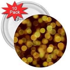 Modern Bokeh 9 3  Buttons (10 Pack)  by ImpressiveMoments