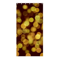 Modern Bokeh 9 Shower Curtain 36  x 72  (Stall)