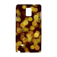Modern Bokeh 9 Samsung Galaxy Note 4 Hardshell Case by ImpressiveMoments