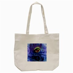 Waterfall Tears Tote Bag (cream)  by icarusismartdesigns
