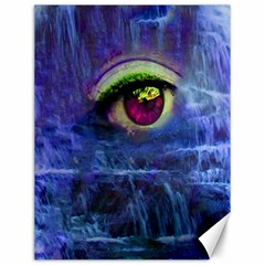 Waterfall Tears Canvas 12  X 16   by icarusismartdesigns