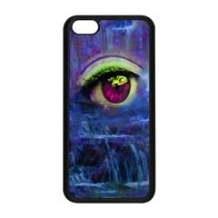 Waterfall Tears Apple Iphone 5c Seamless Case (black) by icarusismartdesigns