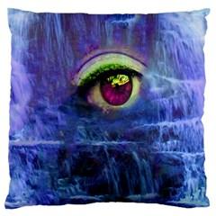 Waterfall Tears Large Flano Cushion Cases (two Sides)  by icarusismartdesigns