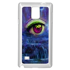 Waterfall Tears Samsung Galaxy Note 4 Case (White) by icarusismartdesigns