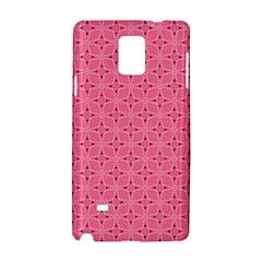 Cute Pretty Elegant Pattern Samsung Galaxy Note 4 Hardshell Case by creativemom