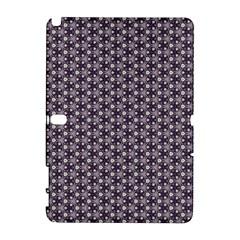 Cute Pretty Elegant Pattern Samsung Galaxy Note 10.1 (P600) Hardshell Case by creativemom